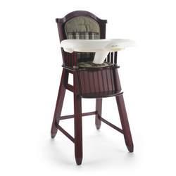 Eddie Bauer Newport Collection Wood High Chair in Bryant