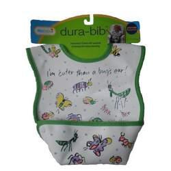 Dex Baby Dura Bib - Stage 1 - Small (I'm Cuter Than a Bug's Ear)