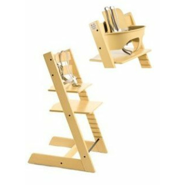 Stokke Tripp Trapp Chair with Baby Set (Yellow)