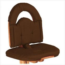 Chair Cushion in Chocolate