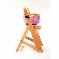 Keekaroo High Chair and Infant Insert Rail, Lilac