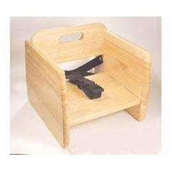 Wooden Booster Seat - Natural