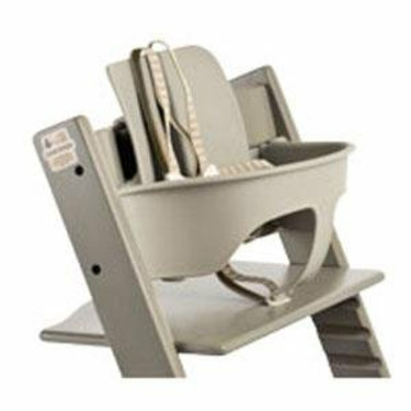 Tripp Trapp High Chair Baby Set Color: Gray