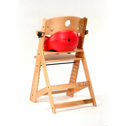 Keekaroo High Chair and Infant Insert Rail, Cherry