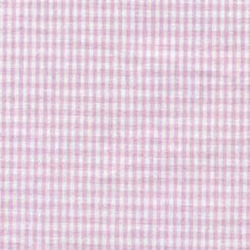 High Chair Cushions w/ Cording - Color Pink Gingham
