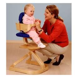 Svan Convertible High Chair Cushion Color Red