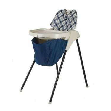 Wupzey WUPNB High chair Food Catcher Navy Blue