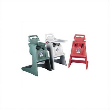 High Chair Color: Grey