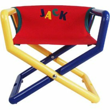 Personalized Jr Director's Chair - Color: Primary Canvas