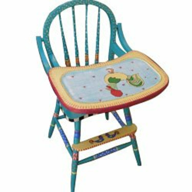 Rooster High Chair