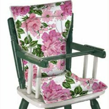 Easy-To-Clean High Chair Cushion/Strawberry Print
