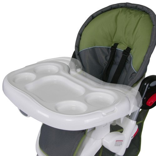 Baby Trend Columbia High Chair   Green/ Gray Image Gallery