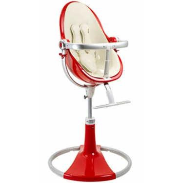 Bloom Fresco Fiamma Limited Edition High Chair with Coconut White (Leatherette) Seat Pad