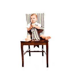 Tie Chair in Brown Stripe