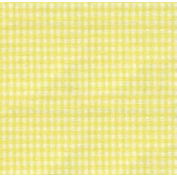 High Chair Cushions w/ Cording - Color Yellow Gingham