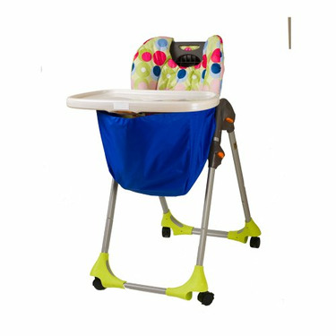 Wupzey High chair Food Catcher Sapphire Blue