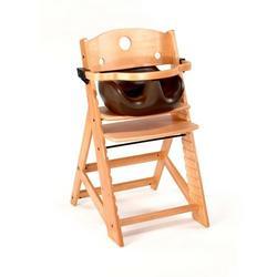 Keekaroo High Chair and Infant Insert Rail, Chocolate