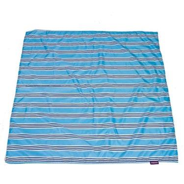 Wupzey Floor Mat Blue Stripe