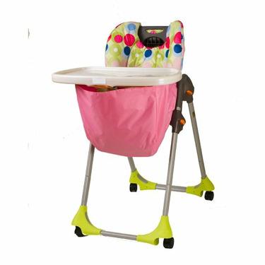 Wupzey High chair Food Catcher Pink Hawaiian