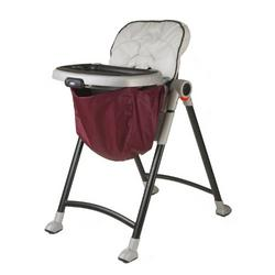 Wupzey High chair Food Catcher craberry red