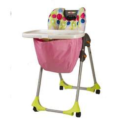 Wupzey High chair Food Catcher Pretty and Pink