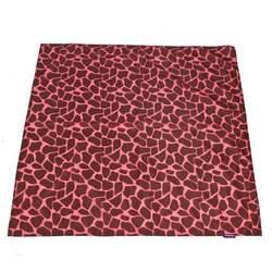 Wupzey Floor Mat Pink Giraffe Print
