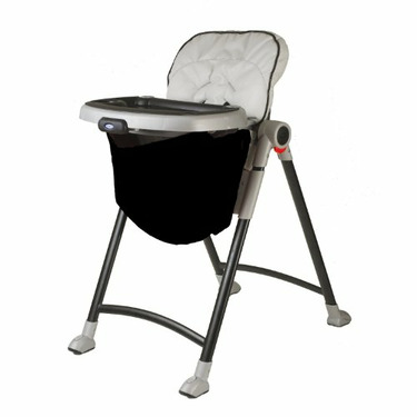 Wupzey High chair Food Catcher licorice black
