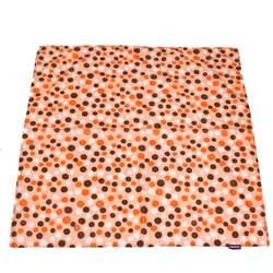 Wupzey Floor Mat Orange Polka Dot