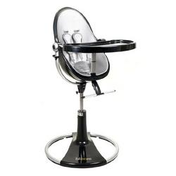 bloombaby Black Fresco Loft Highchair in Lunar Silver
