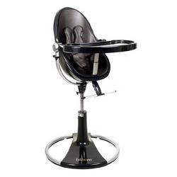 bloombaby Black Fresco Loft Highchair in Leatherette Henna Brown