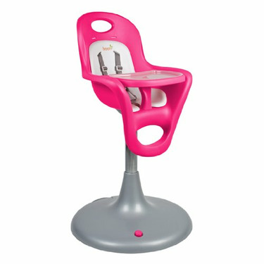 Boon Pink Flair Pedestal High chair