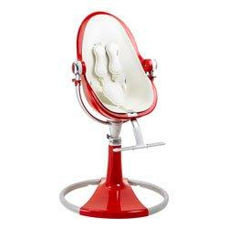 LIMITED EDITION BloomBaby Fresco Loft Fiamma Red High Chair with White Seat