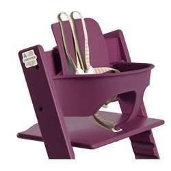 Stokke Tripp Trapp Baby Set in Purple