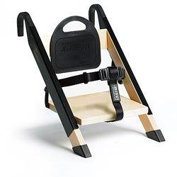 HandySitt Folding Booster Chair in Birch and Black