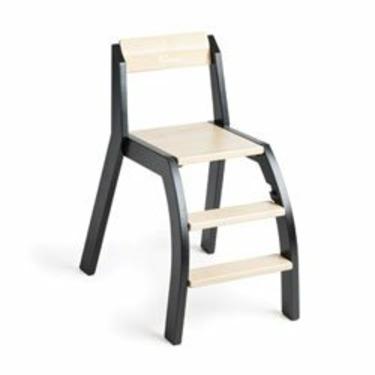Handysitt High Chair in Birch and Black