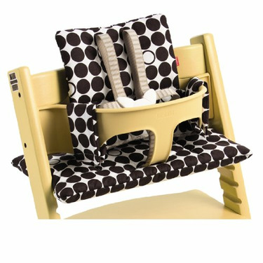 Stokke Tripp Trapp Cushion in Brown Dots