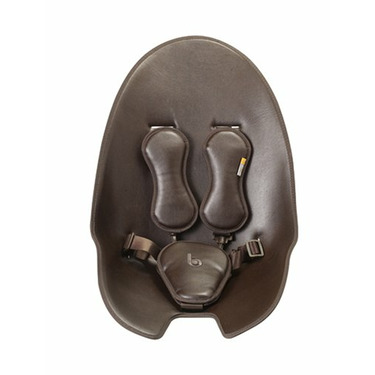 bloom fresco highchair small seat pad - henna brown leatherette (without harness)