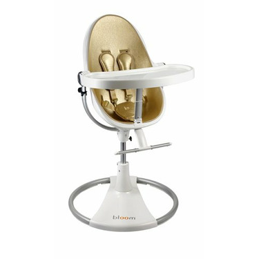 fresco highchair by bloom - solar gold (leatherette) NEW Edition!