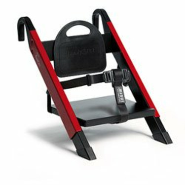 HandySitt Folding Booster Chair in Red and Black