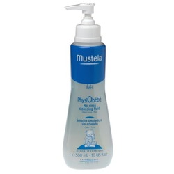 Mustela Physiobebe No-Rinse Cleansing Fluid - 10.14 oz.