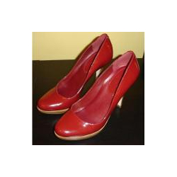 Stoneridge Florimene Red Patent Pumps