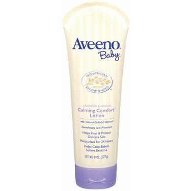 Aveeno Baby Calming Comfort Lotion Lavender and Vanilla