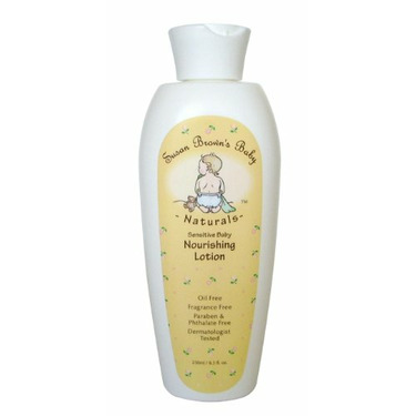 Susan Brown's Baby Sensitive Baby Nourishing Lotion, Oil & Fragrance Free , 8.3-Ounce Bottle