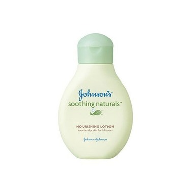 Johnson's Soothing Naturals Nourishing Lotion 8 Oz (Pack of 4)