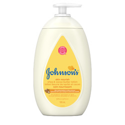 Johnson's Baby Lotion, Shea & Coca Butter Baby Lotion, 15-Ounce Bottles (Pack of 6)