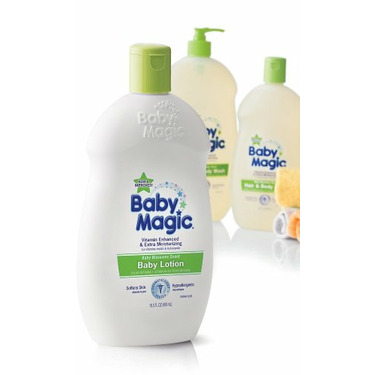 Baby Magic Blossoms Lotion, 16.5-Ounce Bottles (Pack of 6)