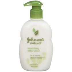 JOHNSON'S NATURAL Baby Lotion