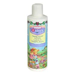 Healthy Times Baby's Herbal Garden Lotion, Sweet Violet , 8 Fluid Ounces (236 ml) (Pack of 6)