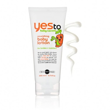 Yes to Baby Carrots Nourishing Baby Lotion 6.76 oz (200 ml)