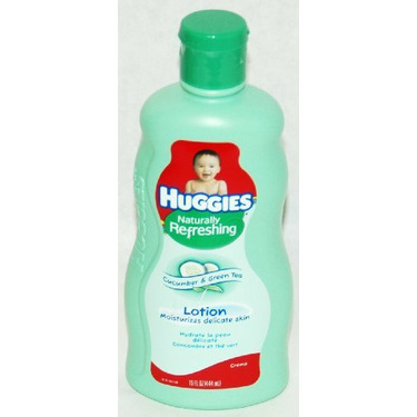 Huggies Naturally Refreshing Baby Lotion with Cucumber & Green Tea - 15 fl oz
